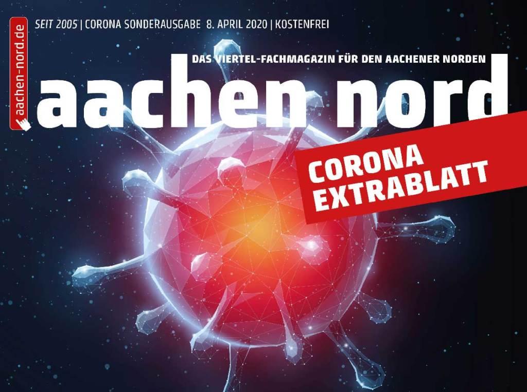 Aachen Nord Corona Extrablatt