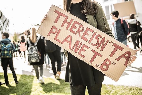 Der Klimastreik zieht zum Tivoli
