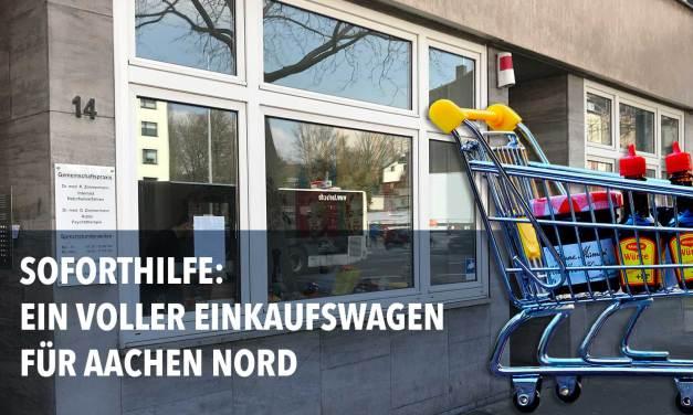 Soforthilfe für Aachen Nord