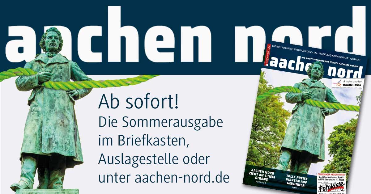 Aachen Nord – Die aktuelle 60. Ausgabe ist da!