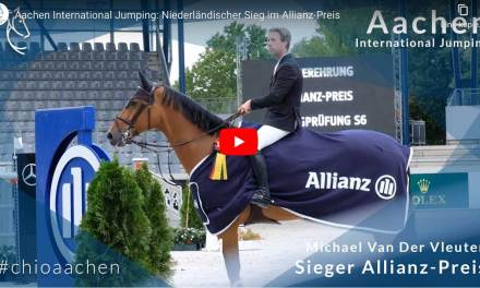 Aachen international jumping – Allianz Preis