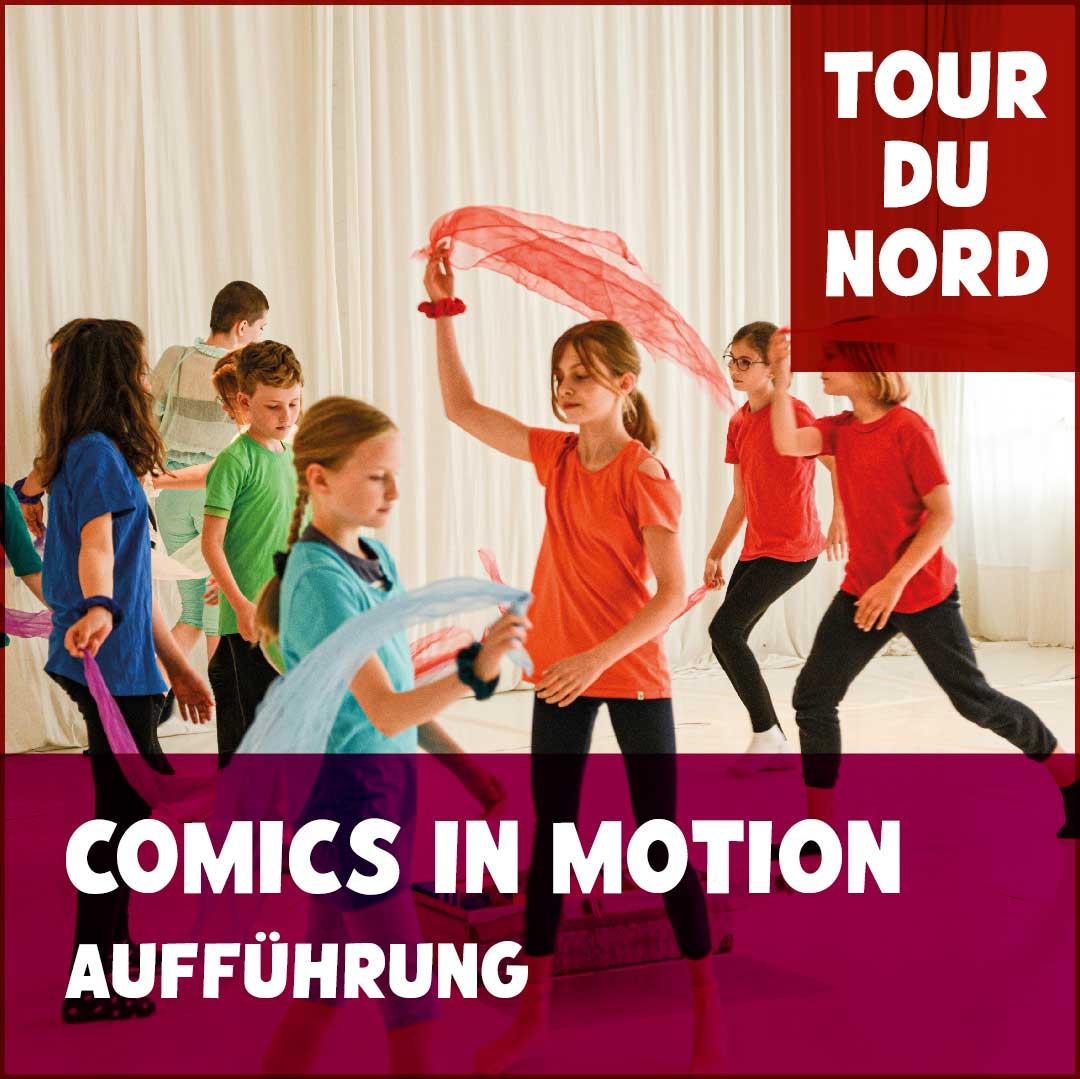 Comics in Motion Tanzperformance