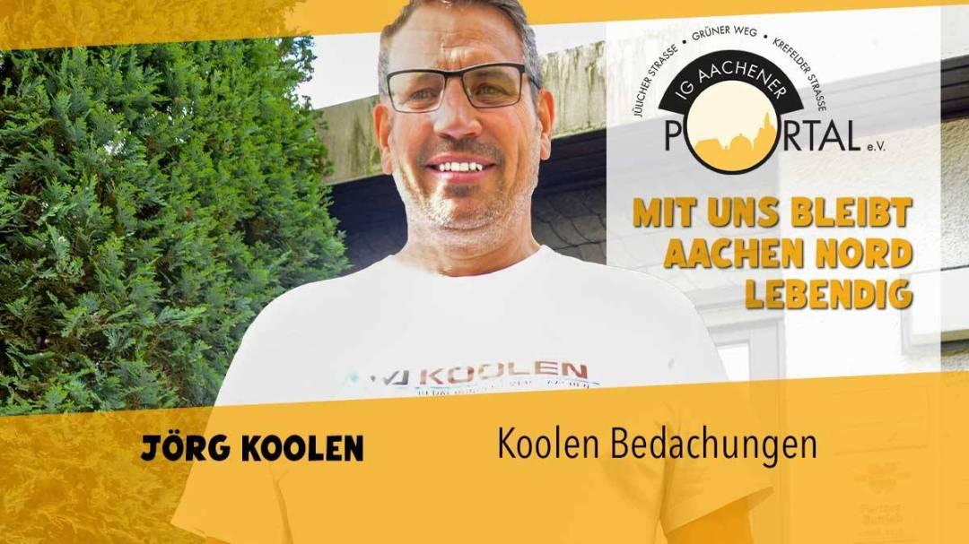 Mit uns bleibt Aachen Nord lebendig mit Jörg Koolen