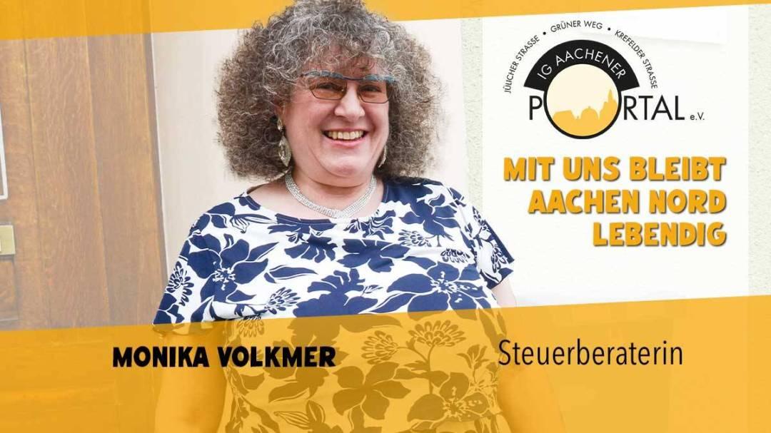 Mit uns bleibt Aachen Nord lebendig mit Monika Volkmer