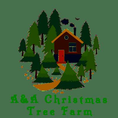 logo for A&A Christmas Tree Farm