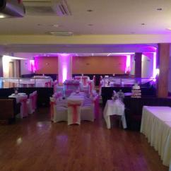 Cheap Chair Cover Decorations Pottery Barn Cushions Lever Brothers Club, Port Sunlight, Wirral - Complete Wedding Venue Dressing And Decoration Hire