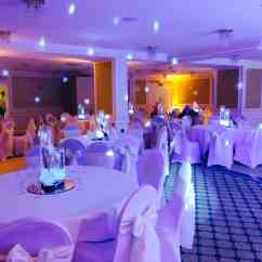 Chair Cover Hire Merseyside White Covers With Gold Bows The Richmond Hotel Liverpool Venue Dressing