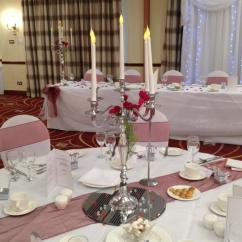 Chair Covers Hire Bolton Toddler Ikea Table Centrepiece Wedding Ideas Liverpool Candelabra Decorations Cover Backdrop For