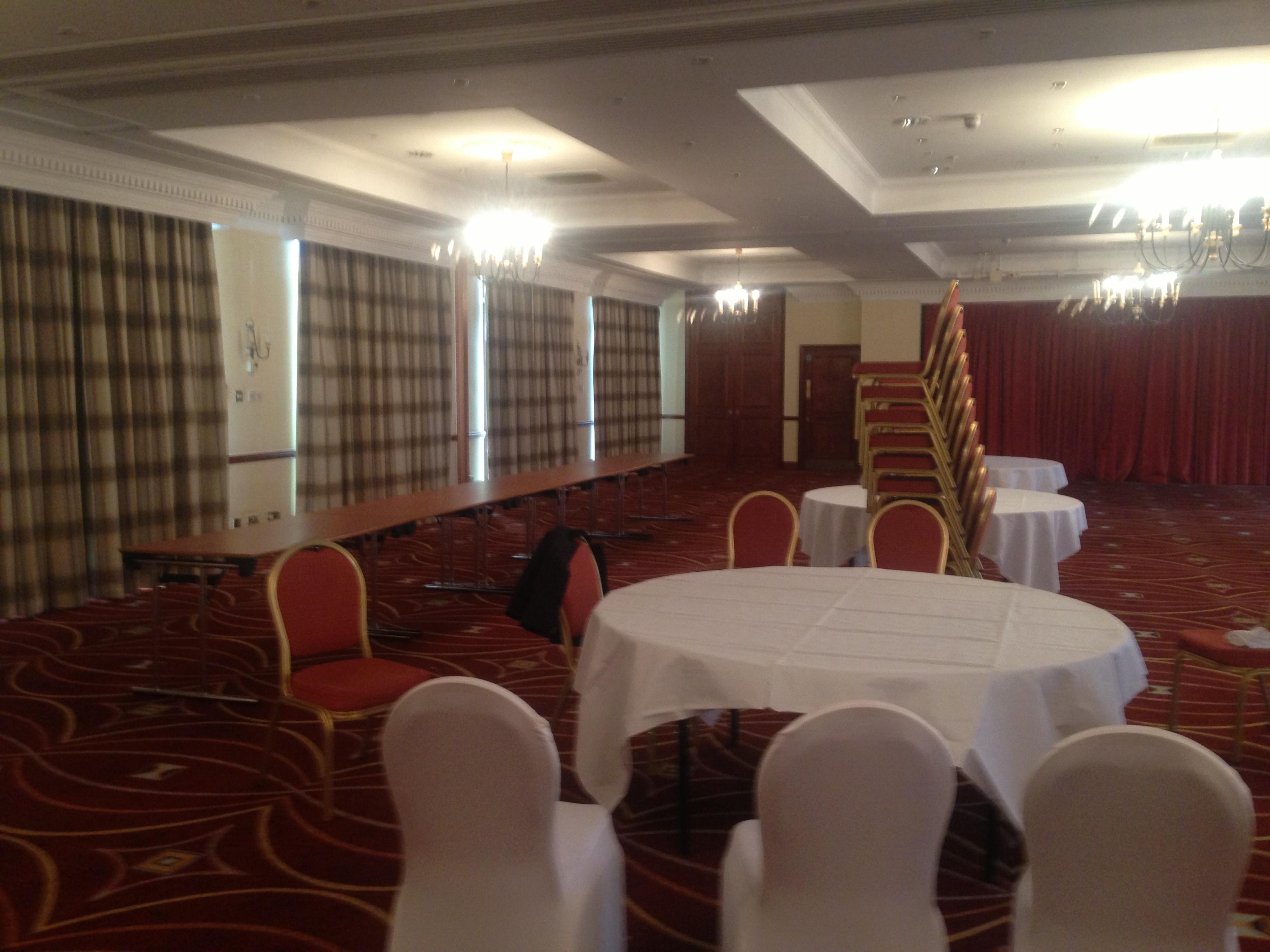 chair cover hire merseyside kitchen desk marriot hotel liverpool wedding venue decoration