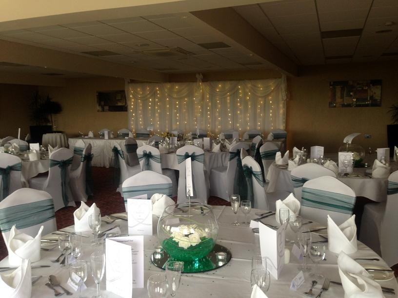 white wedding chair covers hire ikea bed centrepiece decoration hire, venue dressing for weddings and events - liverpool-wirral ...