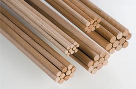 Dyvelpind 100 cm Ø 8 mm i bøgetræ værktøj