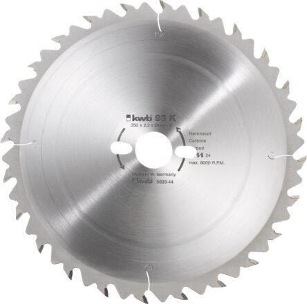 Rundsavsklinge 500 x 30 mm - 44 tænder værktøj