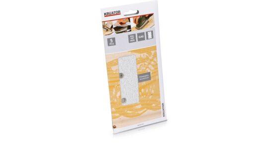 Velcro sandpapir 93 x 187 mm - korn 180 værktøj