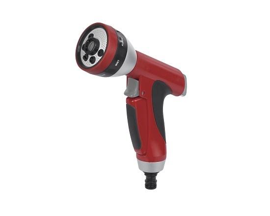 Brusepistol 7 funktioner i aluminium værktøj