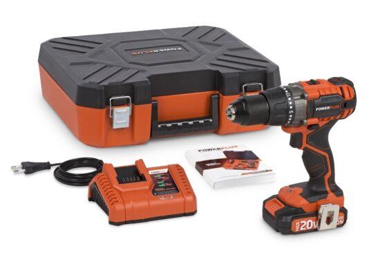 Bore og skruemaskine med 20 V batteri