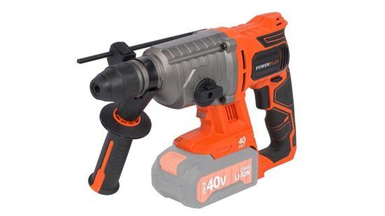 Borehammer med 5 dele UDEN batteri 40 V værktøj