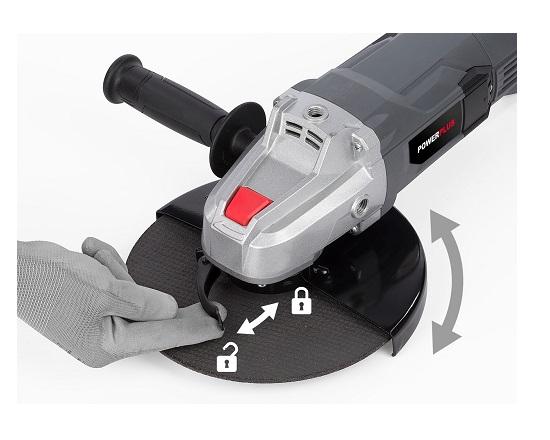 Vinkelsliber 230 mm 2200 Watt værktøj