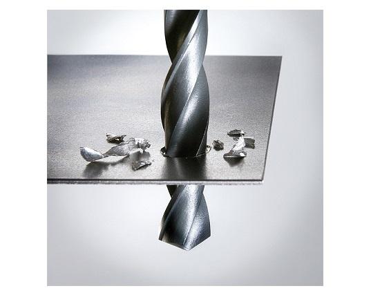Metalbor 13 mm neddrejet skaft 10 mm værktøj