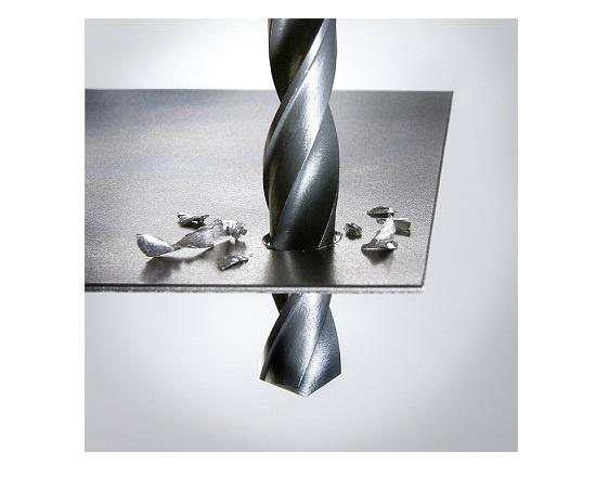 Metalbor 16 mm neddrejet skaft 10 mm værktøj