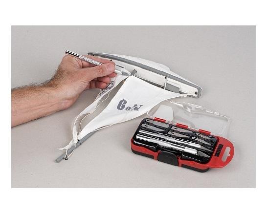 Præcisions knivsæt 10 dele til udskæring værktøj