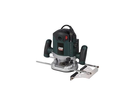 Overfræser med Ø 12 mm skaft 2100 Watt værktøj