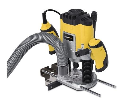 Overfræser 1200 watt med 6 fræserjern værktøj