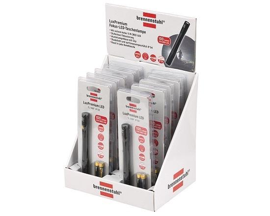 Lommelygte med batterier LED 14,6 cm værktøj