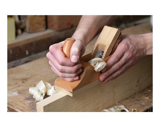 Pudshøvl træ 240 mm værktøj