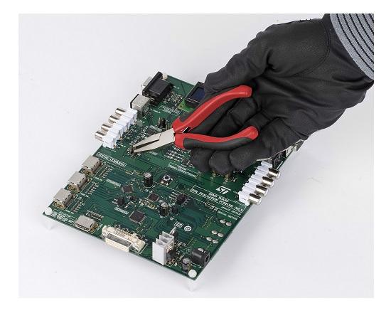 Elektronik Fladtang 125 mm værktøj