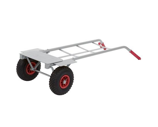 Sækkevogn 200 kg, foldbar rampe værktøj