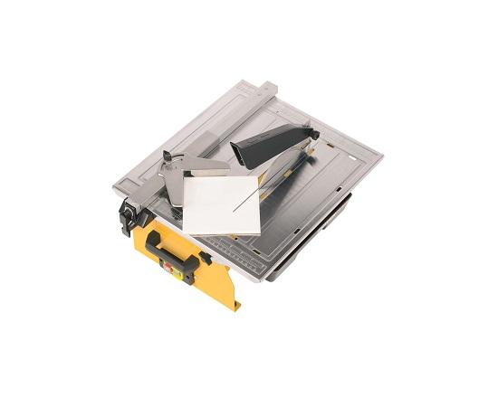 Fliseskærer 750 W 180 mm diamantklinge værktøj