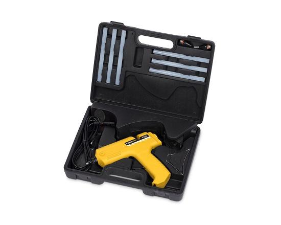 Limpistol opladelig i kuffert værktøj