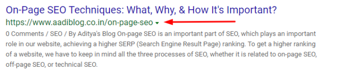 don't forget to use keyword in URL structure, best on-page seo techniques for targeting keywords
