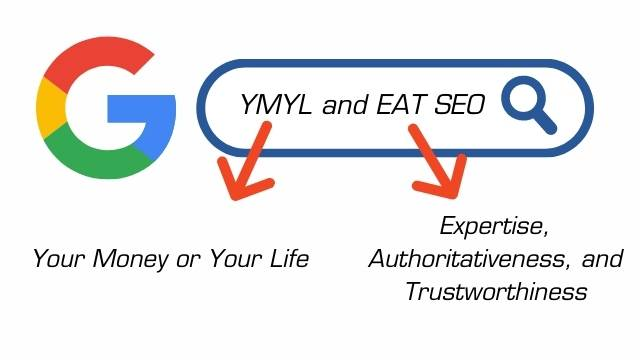 ymyl page for SEO Ranking Factors In 2021