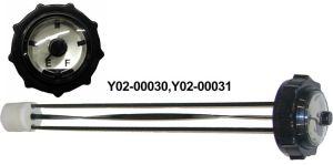 "14"" level gauge-bayonet lock version"
