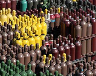 Welding Gases Gas Bottle