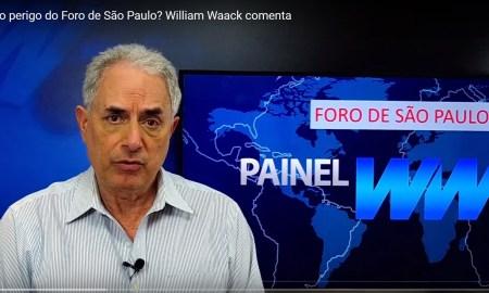 William Waack: ideias do Foro de São Paulo são perigosas, mas o Foro em si não. Imagem: Reprodução/YouTube