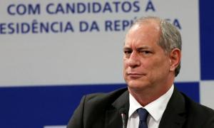 Ciro: no estilo que já o inutilizou em duas corridas presidenciais. Foto: André Carvalho/CNI