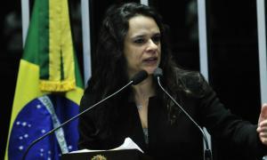 Janaina Paschoal: STF deveria ter um ministro que entenda de responsabilidade fiscal. Foto: Geraldo Magela/Agência Senado