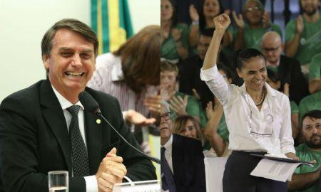 A abstenção tende a ser maior entre o eleitorado de Marina, e menor entre o de Bolsonaro. Fotos: Fabio Rodrigues Pozzebom/Agência Brasil