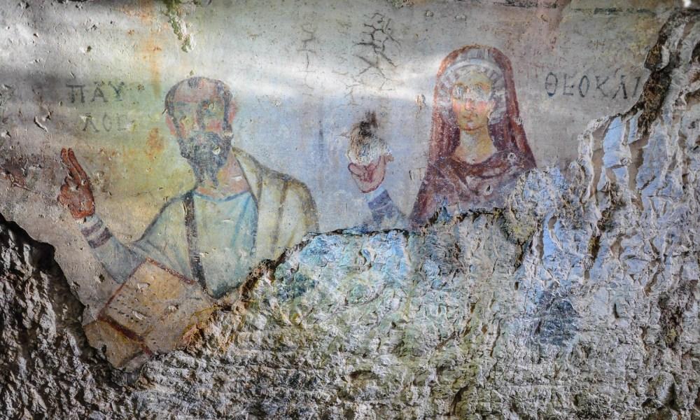 Gruta de Paulo e Tecla em Éfeso inspirou ilustrações de curso de Harvard sobre Cartas de Paulo