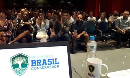 Evento do MBC no Rio: se Bolsonaro vencer, qual será a prioridade dos integrantes? Foto: Facebook/Movimento Brasil Conservador