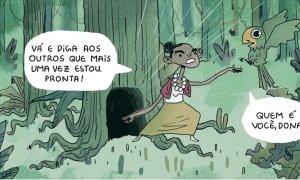 Marina Silva: 'too little, too late'. Cartum de João Montanaro.