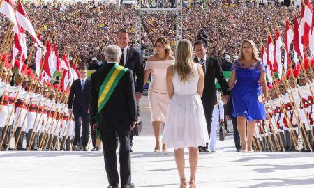 Posse de Jair Bolsonaro: fenômeno popular. Foto:Valter Campanato/Agência Brasil