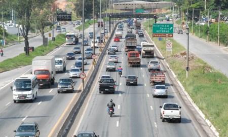 O Anel Rodoviário de BH: cidade tem o pior trânsito do Brasil. Foto: Divino Advincula/PBH
