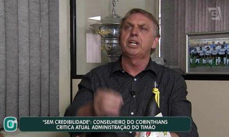 Osmar Stabile: empresário que assumiu autoria do vídeo é conselheiro do Corinthians. Foto: Reprodução/Gazeta Esportiva