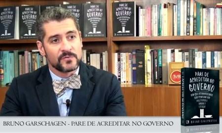 O autor de 'Pare de Acreditar no Governo' não completou três meses no MEC. Foto: Reprodução/Grupo Editorial Record