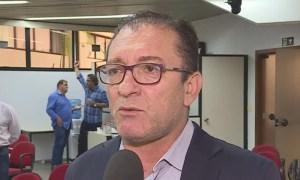 O vereador afastado Cláudio Duarte: rachadinha rendeu por volta de R$ 1 milhão, segundo estima o delegado. Foto: Reprodução/TV Globo
