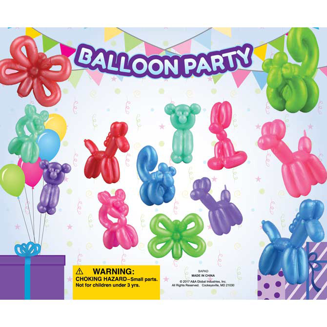 balloon party animals in