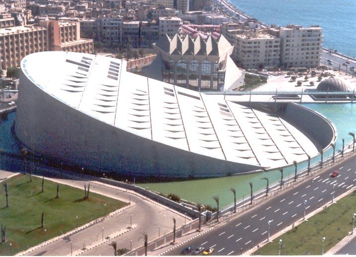 The Bibliotheca Alexandrina